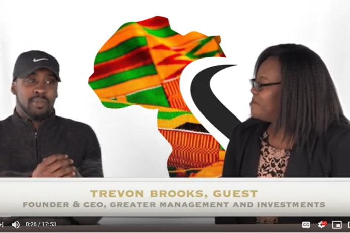 Trevon Brooks is a veteran, entrepreneur, city leader, founder of greater management and investments